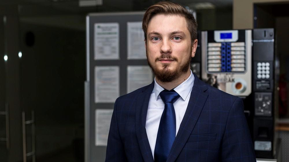 """Dovydas Karosas VšĮ """"Panevėžio mokslo ir technologijų parkas"""" Direktorius"""