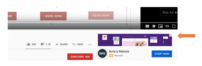 Google video reklama
