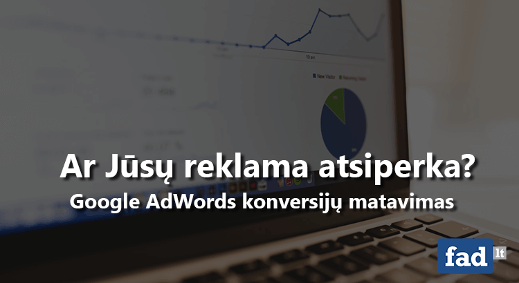 Google adwords konversijos